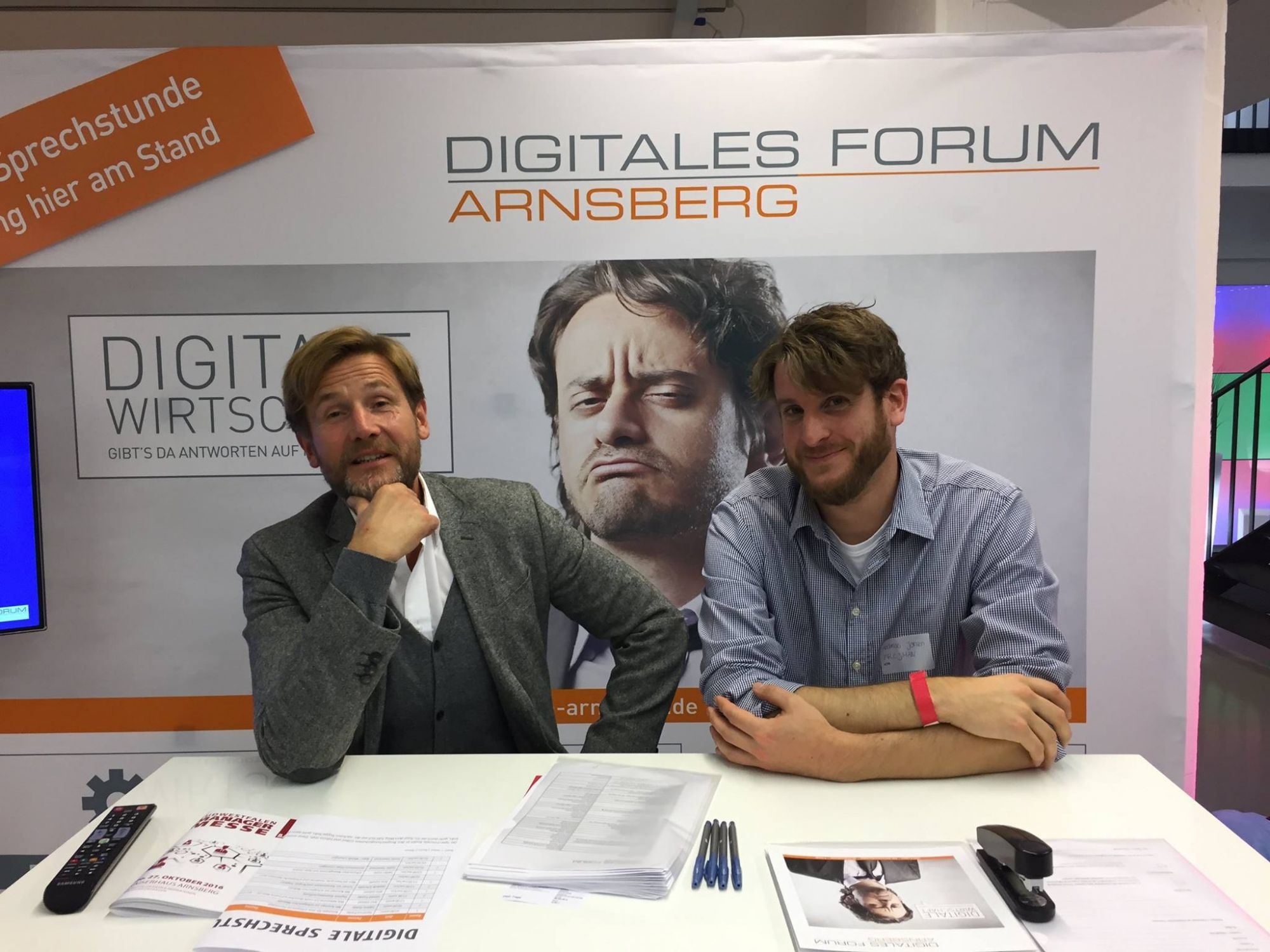 Digitales Forum Arnsberg auf der Südwestfalen Manager Messe